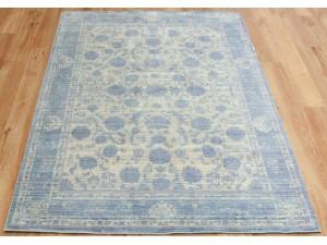 Aqua Silk E414A Grey-Light Blue