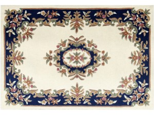 Royal Aubusson Cream-Blue