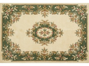 Royal Aubusson Cream-Green