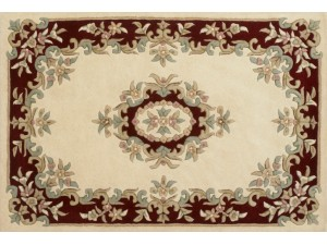 Royal Aubusson Cream-Red