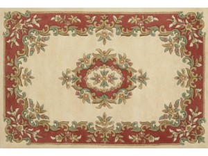 Royal Aubusson Cream-Rose